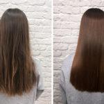 Терапия с кератин и изправяне на коса